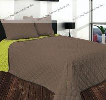 Gina ágytakaró, Nugát-zöld, 210x240 cm