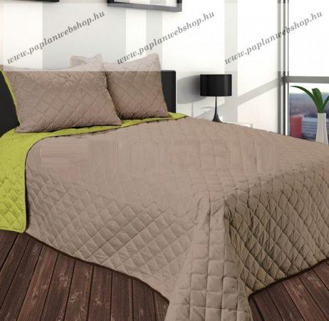 Gina ágytakaró, Capuccino-zöld, 250x260 cm
