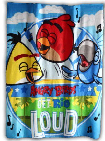 Angry Birds pléd/takaró, Loud, 100x140 cm