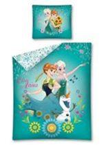 Jégvarázs ágyneműhuzat/Frozen ágyneműhuzat, Tavaszi virágok (100% pamut)