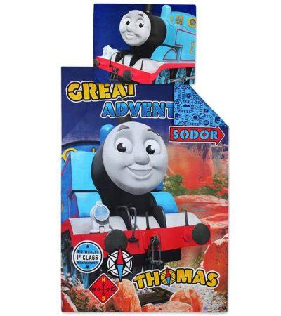 Thomas a gőzmozdony ágyneműhuzat (100% pamut) (710305)