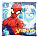 Pókember/Spider-Man face díszpárna, 40x40 cm