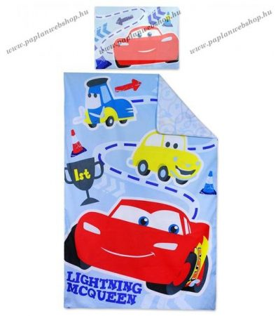 Cars baba ágyneműhuzat (90x140 + 40x55 cm)