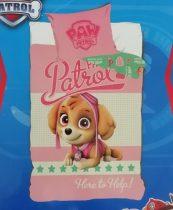 Mancs őrjárat/Paw Patrol baba ágyneműhuzat garnitúra, pink