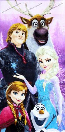 Jégvarázs/Frozen törölköző, Friends, 70x140 cm