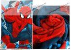 Pókember/Spider-Man plüss pléd/takaró