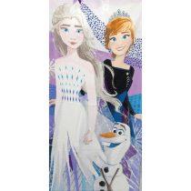 Jégvarázs/Frozen törölköző, Olaf, 70x140 cm (219)