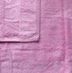 Bambuszos törölköző, pink (100 % bambusz), 70x140 cm