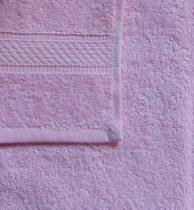 Frottír törölköző, rózsaszín, 30x50 cm