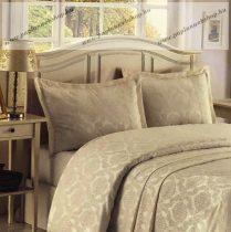 Indás ágytakaró, ecrü, 260x260 cm