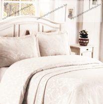 Indás ágytakaró, fehér, 260x260 cm