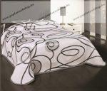 Homedeco ágytakaró, SCARLETT, barna, 240x260 cm