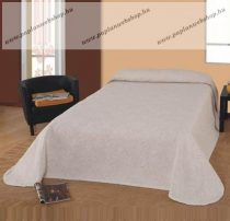 Homedeco LAURA ágytakaró, bézs-leveles, 240x260 cm
