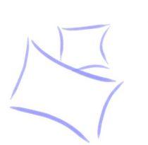 Pink csíkos mintás pléd, 150x200cm